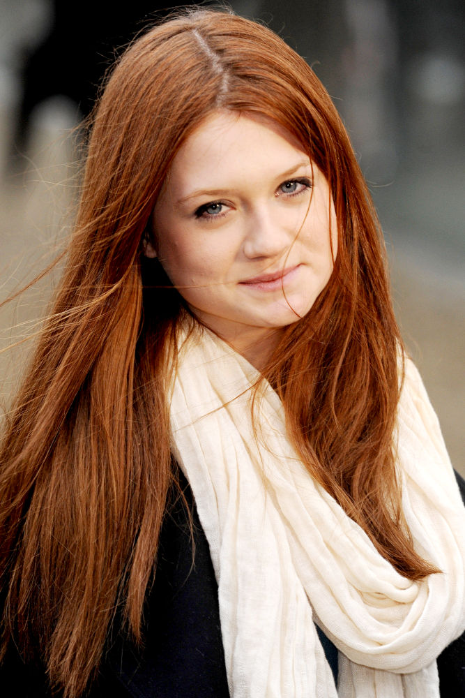 bonnie wright haircut