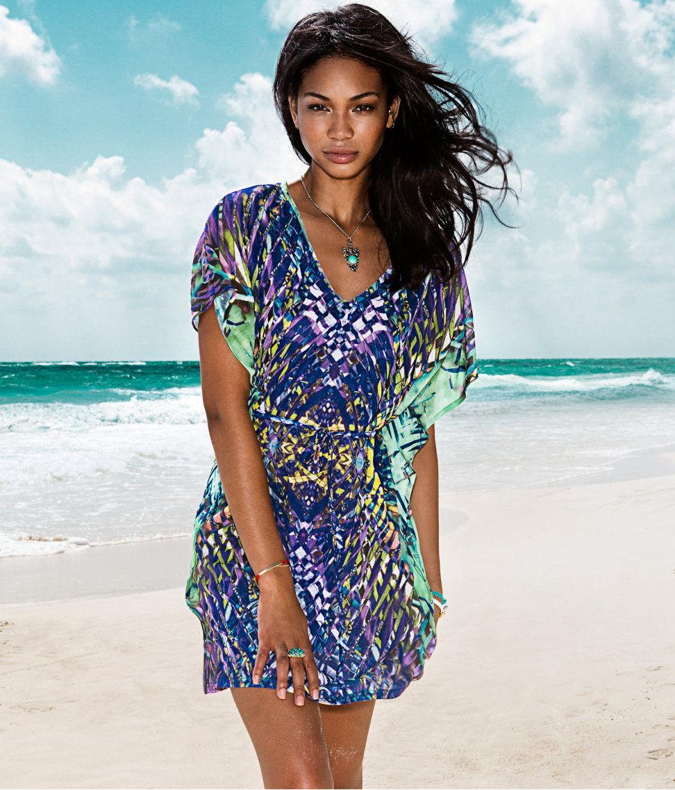 Выкройка пляжного платья для полных 7