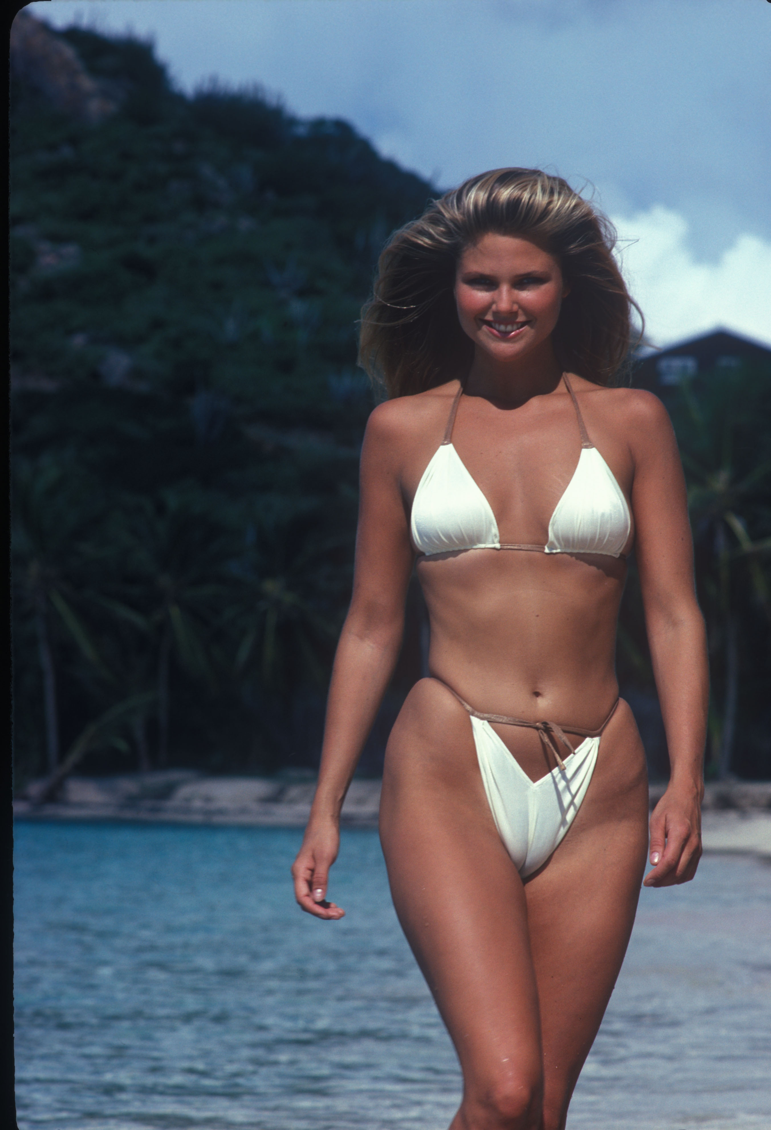 christie brinkley young
