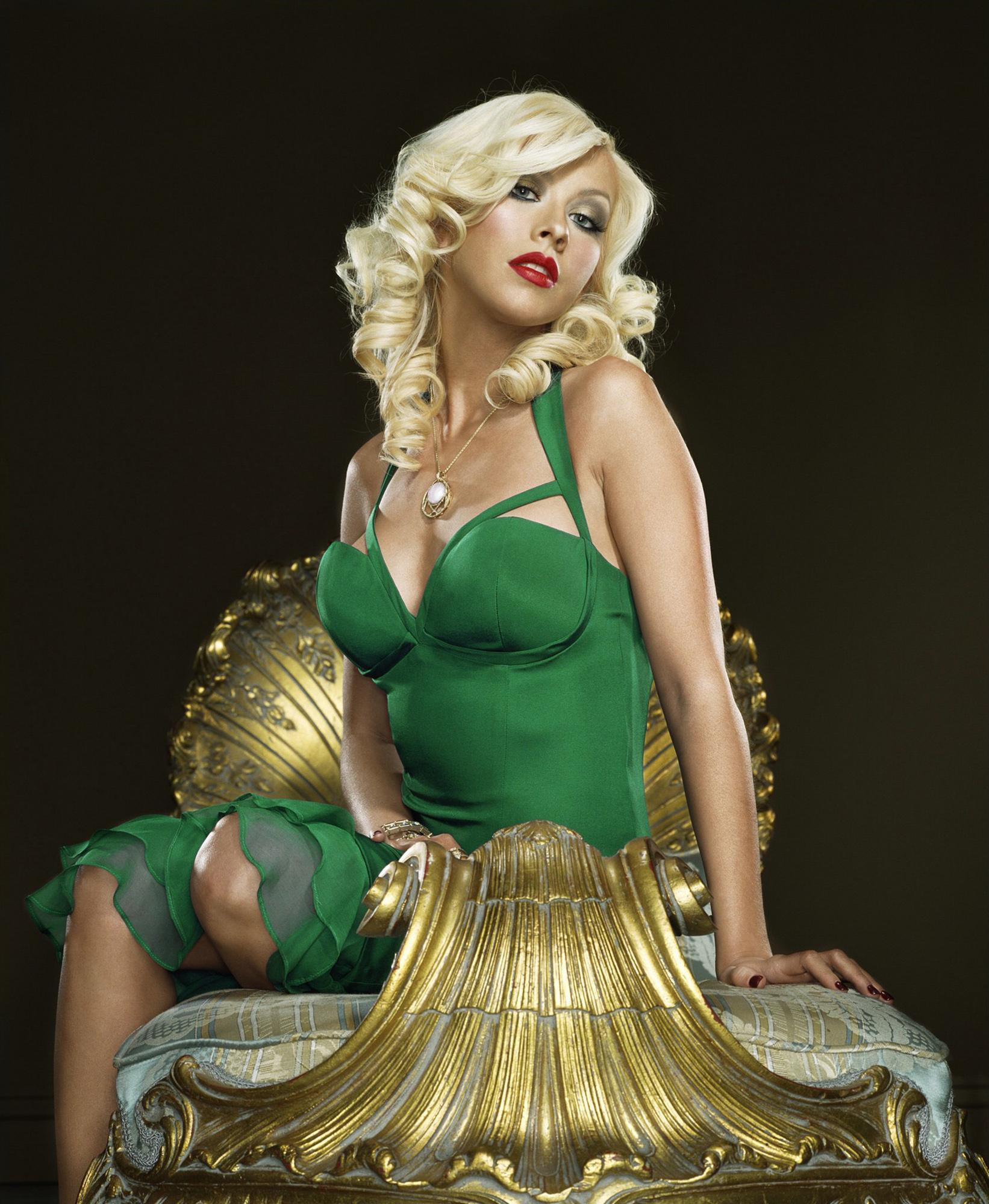 Christina Aguilera (7 фото) .