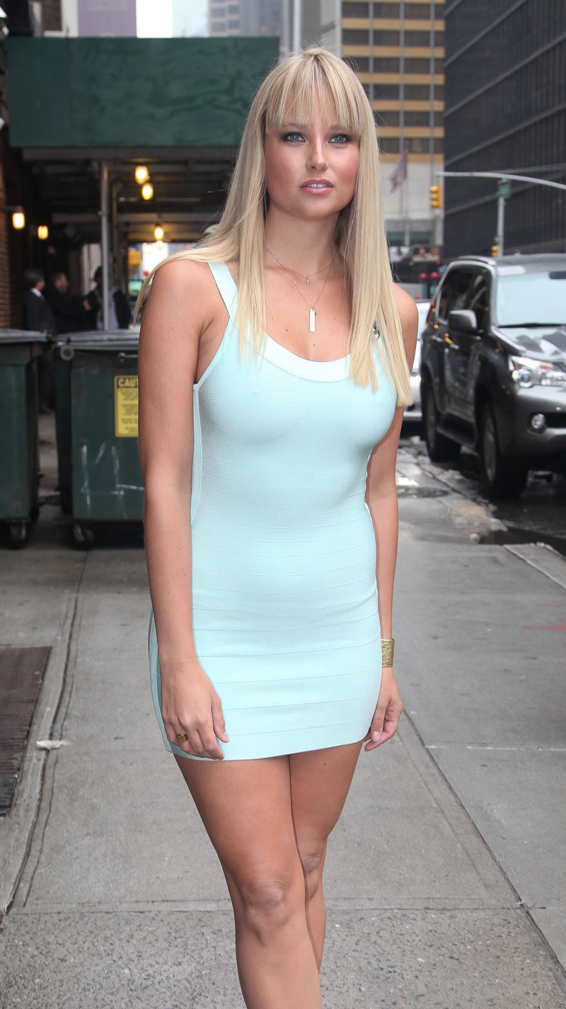 Genevieve morton at jeffrey fashion cares in new york hawtcelebs