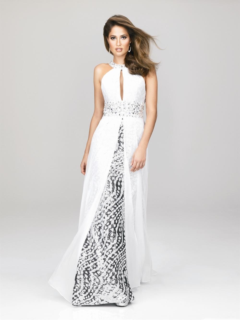 Вечернее Белое Платье В Пол Купить