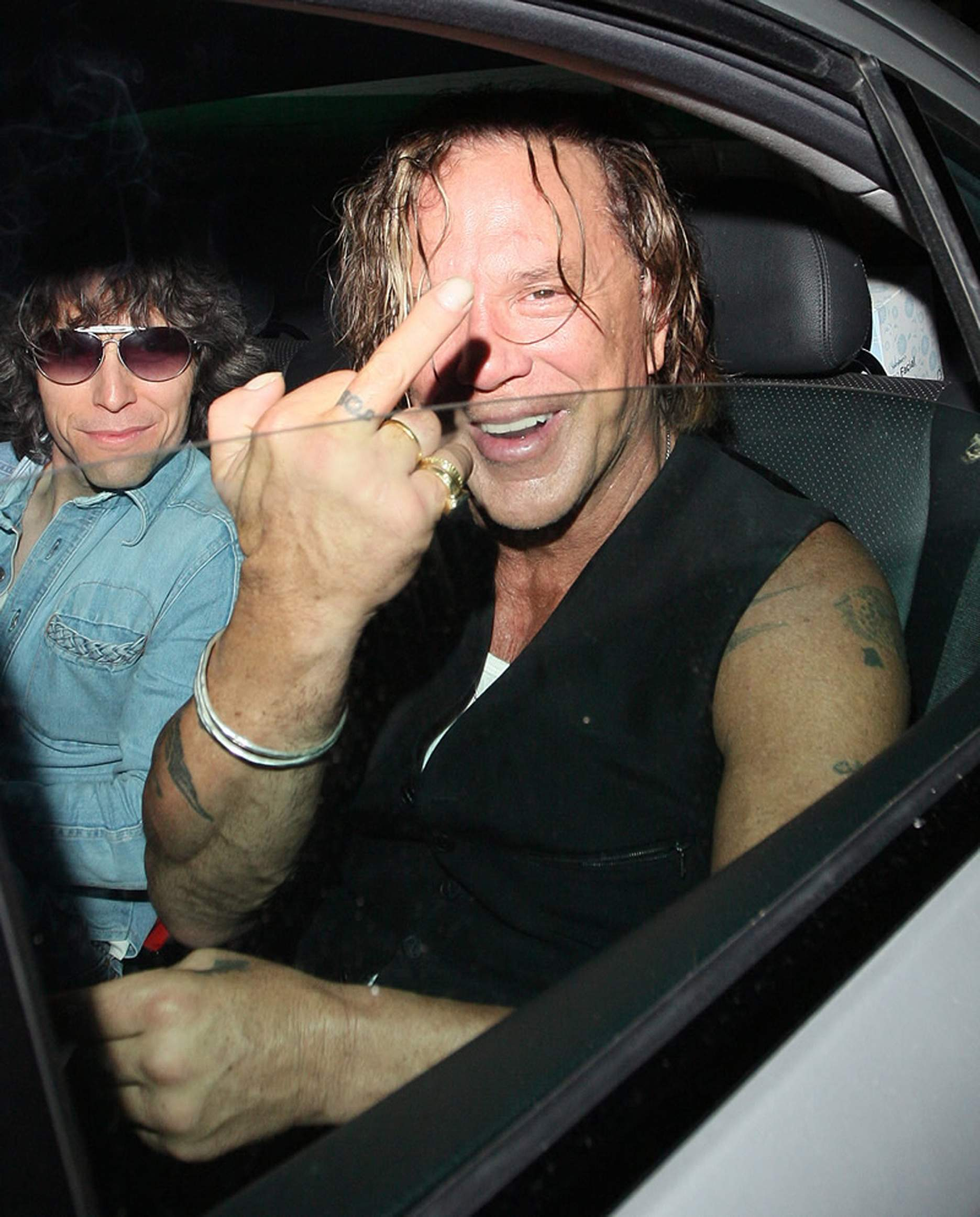 Mickey Rourke Nails Clubbing | www.imgkid.com - The Image ...