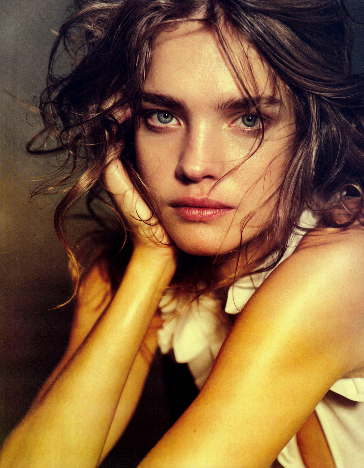 Natalia Vodianova in Vogue China (May 2010) Photographer Peter