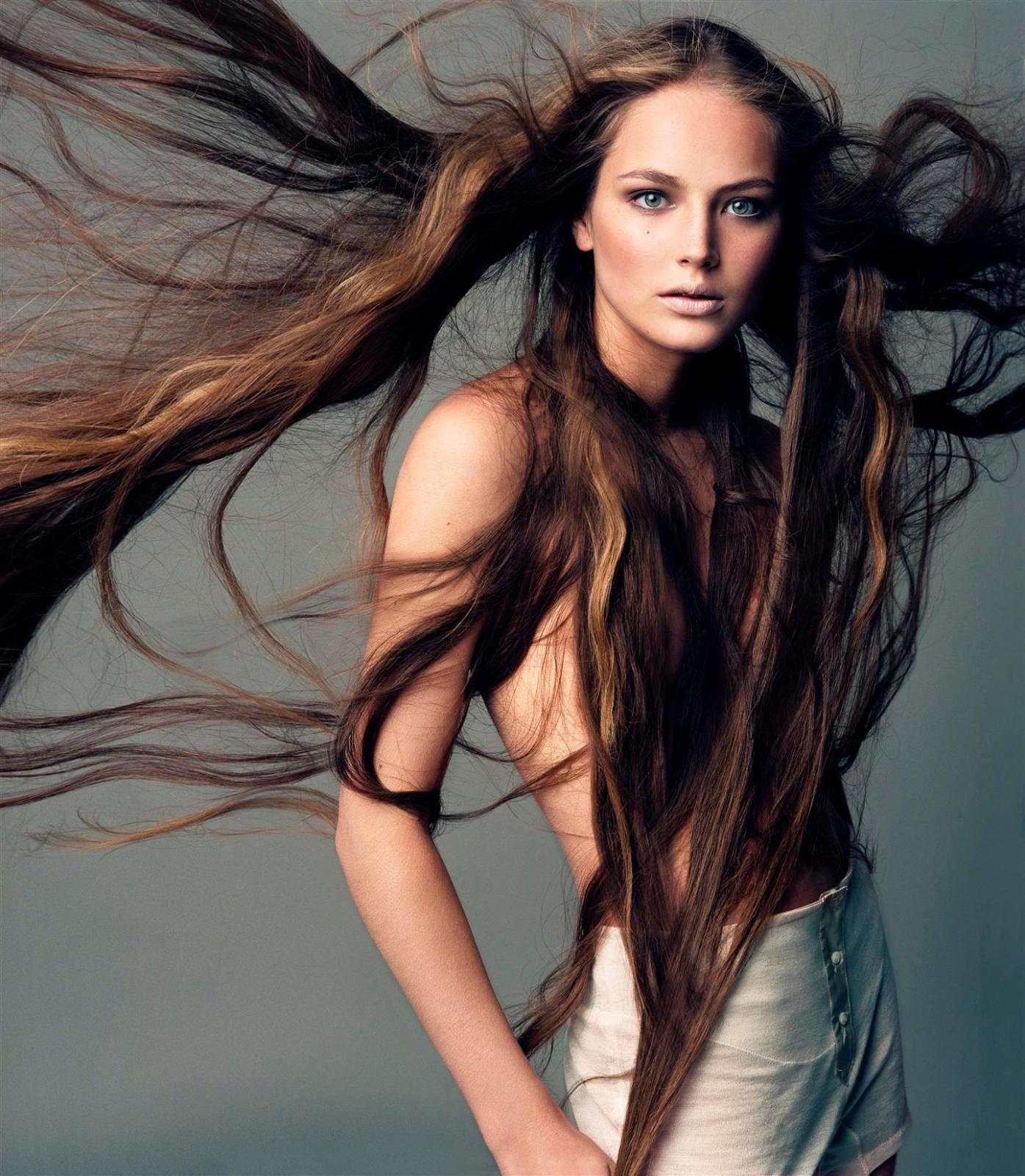 Фото русских девушек с длинными волосами 1 фотография