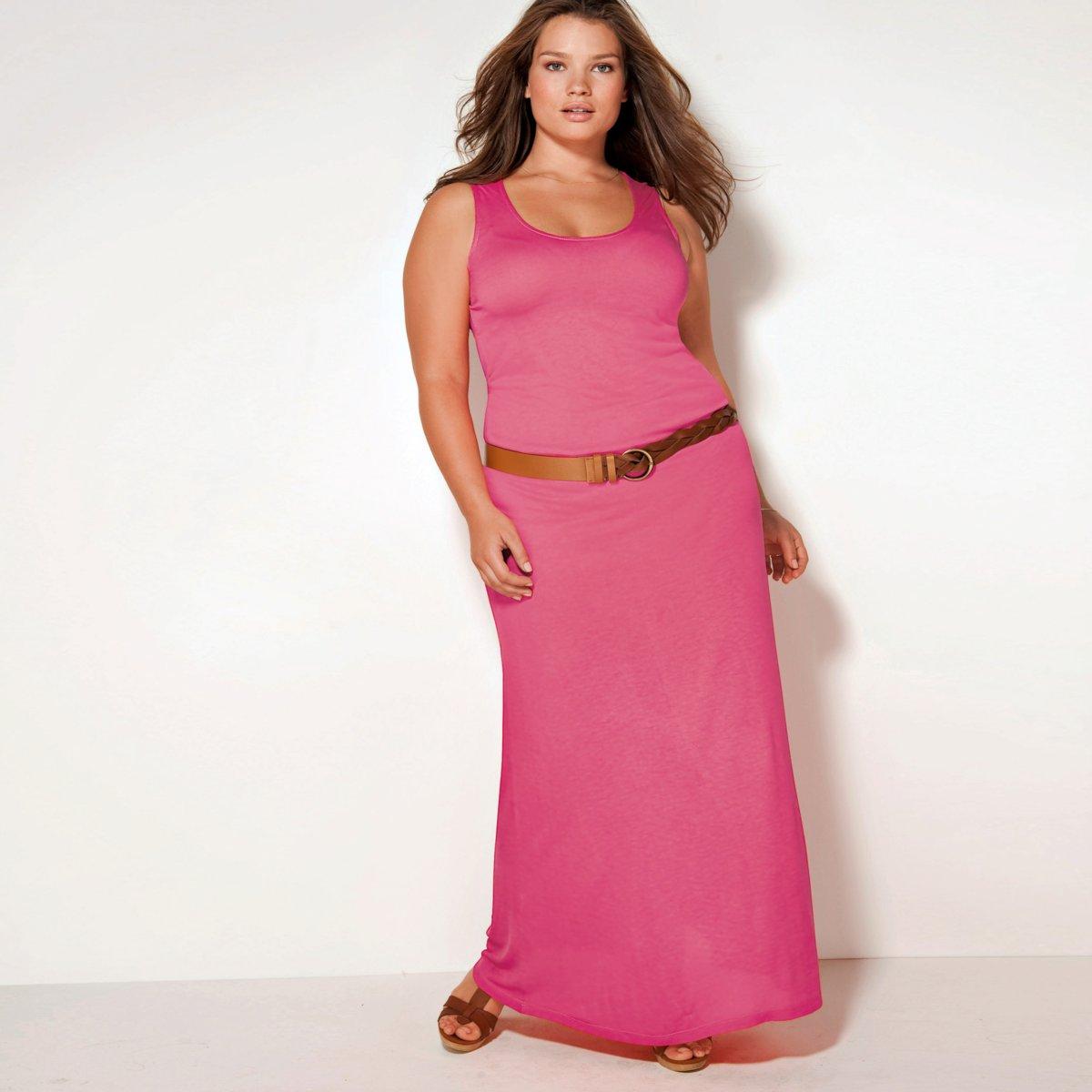 Описание: Платья для полных женщин La Redoute.
